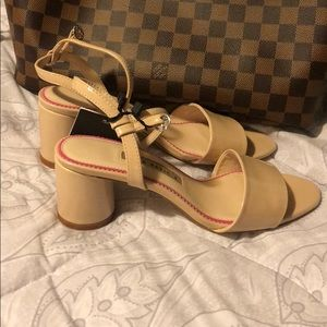 NWT Zara block sandals